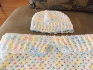 Sleep Sack and Cap Crochet