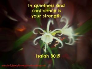 Isaiah 3015